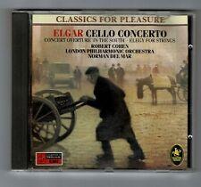 ELGAR CELLO CONCERTO LPO Norman Del Mar Robert Cohen CD Album CA