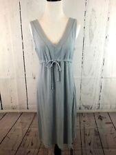 Fresh Produce Gray Drawstring Tie Empire Waist Comfortable Dress Size XS