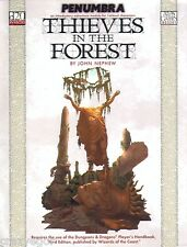 D&D 3rd ed Penumbra - Thieves in the Forest - D20 1st Level *FS