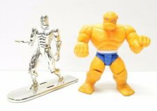 Silver Surfer + The Thing Toy Biz 1990's Marvel action figures Animated Series