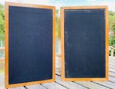 Linn Kan Mk1 speakers. Consecutive serial numbers. tested