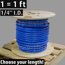 """1/4"""" ID FlexFab 5526 Blue Silicone Heater Hose 6mm 350F Radiator Coolant .25"""""""