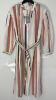 EXTRA SMALL - lemlem x H&M - Multi/Striped - Lyocell-blend Kaftan Dress