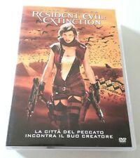 RESIDENT EVIL EXTINCTION FILM DVD ITALIANO OTTIMO SPED GRATIS SU + ACQUISTI!!