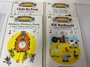 Lot of 4 Super Dumper Publication Interactive Sing Along Big Books READ