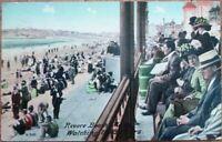 Revere Beach, MA 1910 Postcard: Watching the Bathers - Massachusetts Mass