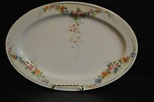 "12"" Hutschenreuther Oval Serving Platter  #2  HUT504 - Discontinued Pattern"