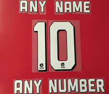 ADELAIDE UNITED NAME AND NUMBER FOR HOME JERSEY 2015/2016