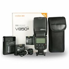 Godox V850II HSS 1/8000s Flash +Battery For Canon Nikon Sony Pentax Olympus Fuji