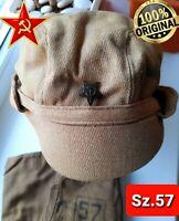 USSR original military DESERT HAT afganka special forces soviet russian army cap