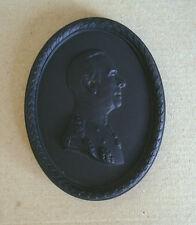 Wedgwood Basalt Black Earl Mountbatten Medallion Limited Edition