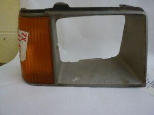 Passenger Headlight Door/Cover Chrome And Argent Fits 81-82 ESCORT 29012