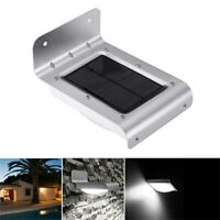 16 énergie solaire LED capteur de mouvement jardin  lampe de sécurité 120 degré