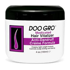 Doo Gro Medicated Hair Vitalizer Anti-Dandruff Creme Formula 4 oz