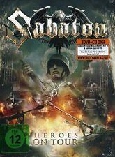 SABATON HEROES ON TOUR DOPPIO DVD+CD NUOVO SIGILLATO !!