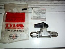 """Tylok TY-FLO 316-D3 Ball Valve 1/2"""" New  SS-8-ITT-8-8 Stainless Steel"""
