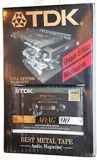 TDK  MA-XG   90   VS. II      1990  BLANK CASSETTE TAPE (1) (SEALED)