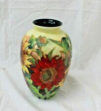 Old Tupton Floral design vase mint condition