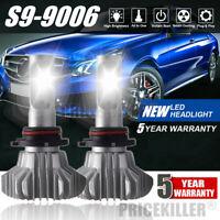 2x 9006 HB3 1800W 195000LM LED Headlight Bulb Conversion Kit 6000K High Low Beam