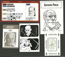 Sigmund Freud Scientist Fab Card Collection Psychoanalysis  Austrian Neurologist