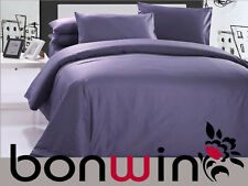 100% PURE EGYPTIAN COTTON 1000TC QUEEN DOONA QUILT COVER SET GRAPE