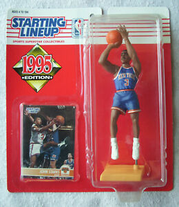 1995 NBA Starting Lineup John Starks New York Knicks Guard 1990-1998