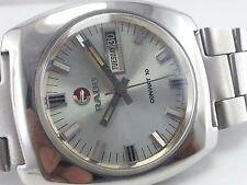 VINTAGE COLLECTIBLE  RADO CONWAT 10  WATCH FOR MEN'S SWISS  AUTOMATIC  CASE