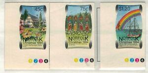 Norfolk Island, Scott 566 - 568 in MNH Condition