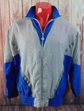 Vintage Adidas 80's 90s large Track Suit Large Windbreaker Classic Original Blue