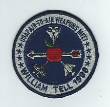 1988 WILLIAM TELL MEET patch