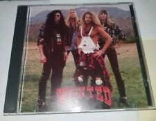 Wanted Ep Very Rare Indie Glam Hair Sleaze Metal Cd 1992