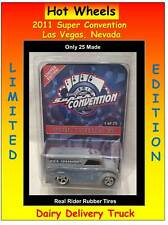 2011 Hot Wheels Super Convention Vegas Dairy Delivery Truck 1 of 25 Made RR