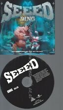 PROMO CD--SEEED --DING -- 1 TR