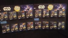 Hasbro Store Display Star Wars The Clone Wars Collectible Set of Action Figures