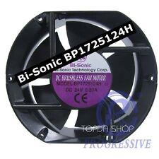 Bi-Sonic BP1725124H Aluminum frame cooling fan DC24V 0.80A 172*150*51mm 2wire