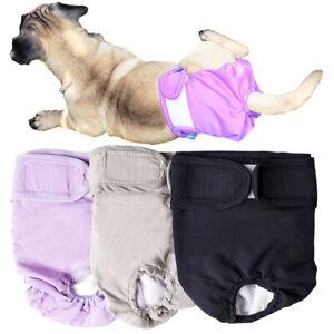 Reusable Pet Diaper Leak-proof Sanitary Pants Female Dog Puppy Washable