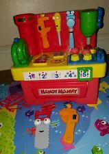 Disney Handy Manny Musical Talking Shape Sorter Workbench & Tools set