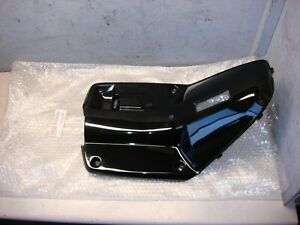 YAMAHA ZUMA CW 50 1997-2001 LEG SHIELD BODY BLACK NOS OEM # 3VL-F8311-10-00