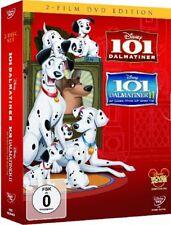 101 DALMATINER + 101 DALMATINER II (Walt Disney) 2 DVDs NEU+OVP