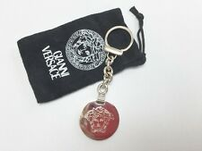 7ac17b74e3 Authentic Gianni Versace Medusa Key Ring with Pouch