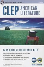 College Placement Test Preparation: CLEP® American Literature Book + Online by J