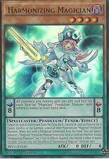 YU-GI-OH CARD: HARMONIZING MAGICIAN - ULTRA RARE - PEVO-EN010 - 1ST EDITION