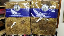 2 Super Moss 21579 16oz Dry Dried Santa Barbara California Forest Yellow Brown