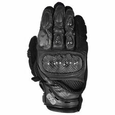 Oxford Knuckles Leather & Textile Motorcycle Gloves