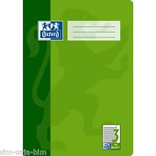 Oxford Schulheft DIN A4 Lineatur 3 / Liniert 16 Blatt