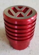 VW T5 T6 Gear Shift Knob Aluminium Ribbed Red