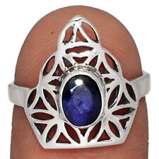 Sapphire 925 Sterling Silver Ring Jewelry s.7 AR153505