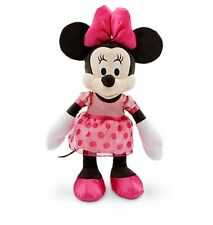 "Disney Authentic Patch Minnie Mouse BIG Plush Toy for Baby 17"" Tall NWT"