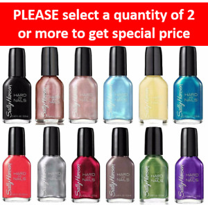 Sally Hansen Hard As Nails Finger Nail Polish~Colors~BUY 2 FOR THE PRICE OF 1~e6