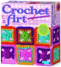 4M Crochet Art Kit , New, Free Shipping